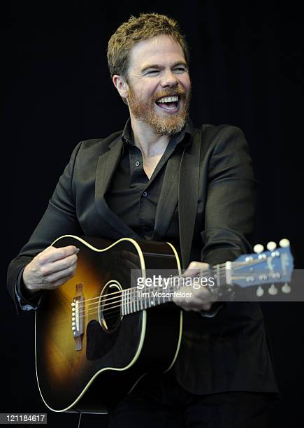 Josh Ritter of Josh Ritter the Royal City Band performs at Day Three of the Outside Lands Music Art Festival at Golden Gate Park on August 14 2011 in...
