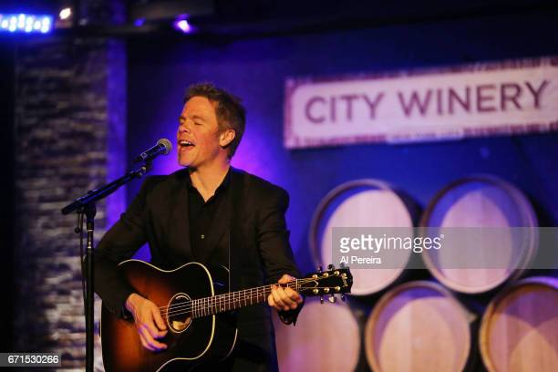 Josh Ritter performs at City Winery on April 18 2017 in New York City