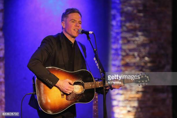 Josh Ritter performs at City Winery on February 2 2017 in New York City