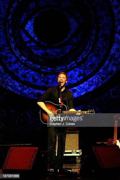 Josh Ritter performs at The Brown Theatre on April 19 2013 in Louisville Kentucky