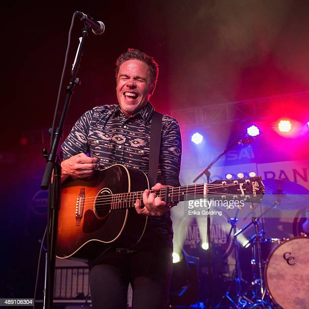 Josh Ritter performs at The Cannery on September 18 2015 in Nashville Tennessee