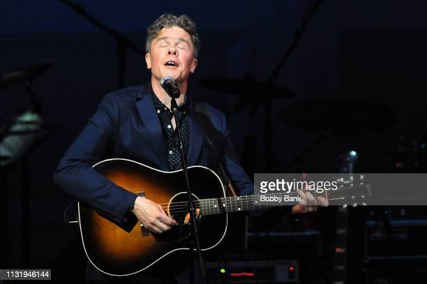 Josh Ritter performs at the Michael Dorf Presents The Music Of Van Morrison at Carnegie Hall on March 21 2019 in New York City