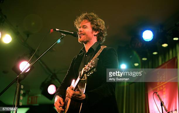 Josh Ritter performs at Tribeca/ASCAP Music Lounge at the Canal Room May 3 2006 in New York