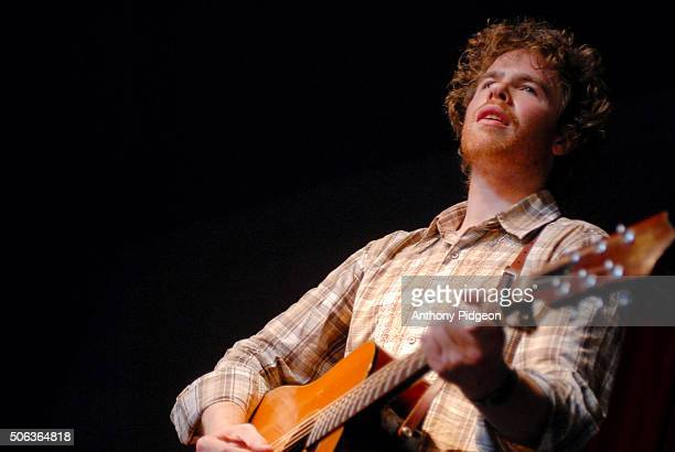 Josh Ritter performs instore at Music Millenium in Portland Oregon USA on 5th June 2006