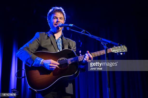 Josh Ritter performs on stage at Sala Apolo on November 8 2013 in Barcelona Spain