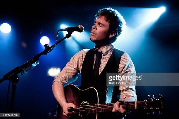 Josh Ritter performs on stage at Scala on April 18 2011 in London United Kingdom