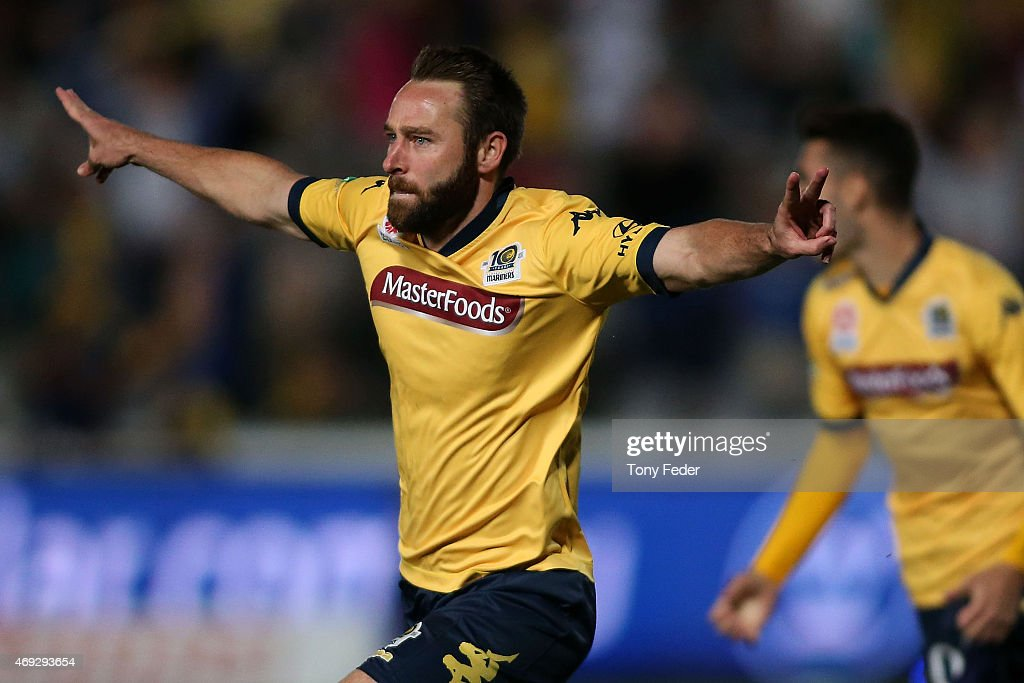 A-League Rd 25 - Central Coast v Western Sydney : News Photo