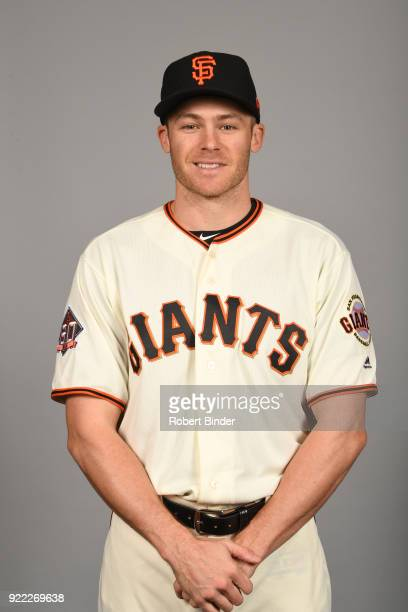 Josh Rutledge of the San Francisco Giants poses during Photo Day on Tuesday February 20 2018 at Scottsdale Stadium in Scottsdale Arizona