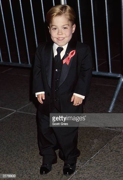 Josh Ryan Evans of 'Passions' at the 27th Annual Daytime Emmy Awards held at Radio City Music Hall in New York City on 5/19/00 Photo by Scott...