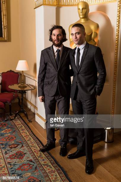 Josh Safdie and Robert Pattinson attend The Academy of Motion Picture Arts and Sciences New Member's Party at Spencer House on October 5 2017 in...