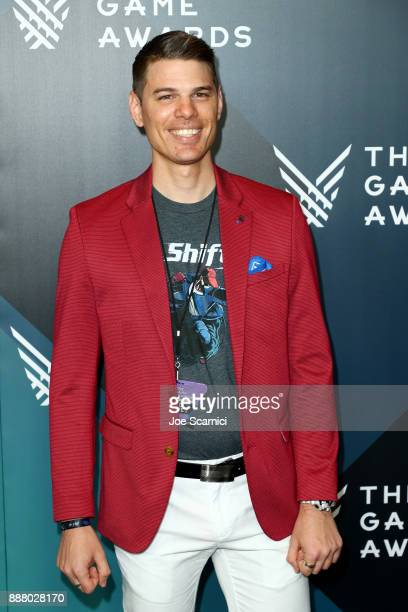 Josh Sanderson creator of Mr Shifty and nominee of the 'Best Debut Indie Game Presented by Schick Hydro' award attends The Game Awards 2017 at...