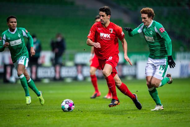 DEU: SV Werder Bremen v FC Augsburg - Bundesliga for DFL