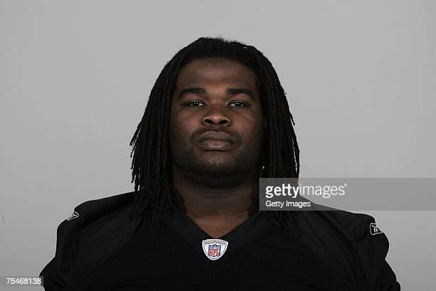Josh Shaw of the Oakland Raiders poses for his 2007 NFL headshot at photo day in Oakland California