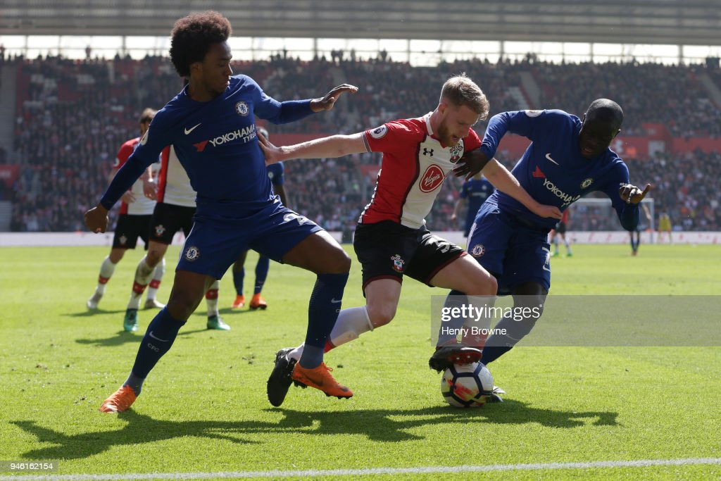 Southampton v Chelsea - Premier League : News Photo