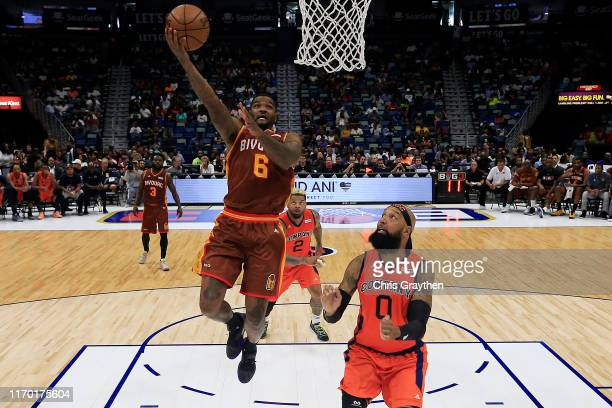 Josh Smith of Bivouac shoots the ball during the BIG3 Playoffs at Smoothie King Center on August 25, 2019 in New Orleans, Louisiana.