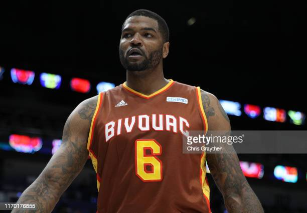 Josh Smith of Bivouac walks from the court during the BIG3 Playoffs at Smoothie King Center on August 25, 2019 in New Orleans, Louisiana.