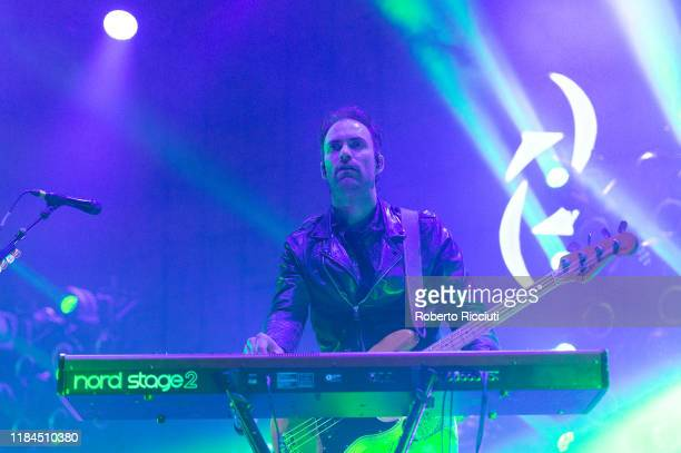 Josh Smith of Halestorm performs on stage at The SSE Hydro on November 24, 2019 in Glasgow, Scotland.