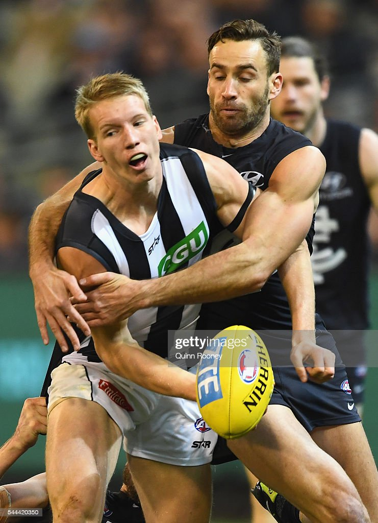 AFL Rd 15 - Carlton v Collingwood
