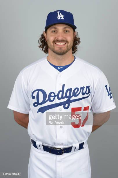 Josh Smoker of the Los Angeles Dodgers poses during Photo Day on Thursday February 20 2019 at Camelback Ranch in Glendale Arizona