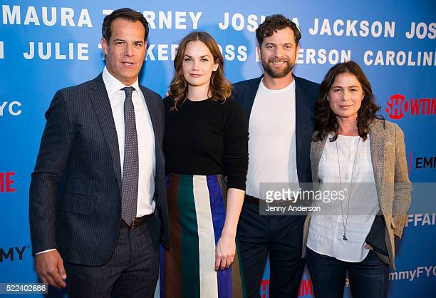Josh Stamberg Ruth Wilson Joshua Jackson and Maura Tierney attend The Affair New York Screening at NYIT Auditorium on Broadway on April 18 2016 in...