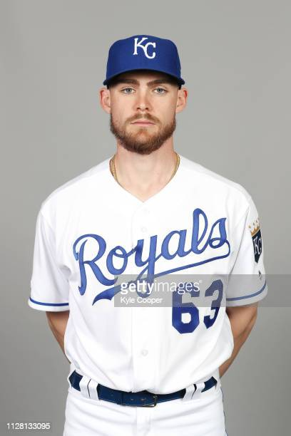 Josh Staumont of the Kansas City Royals poses during Photo Day on Thursday February 21 2019 at Surprise Stadium in Surprise Arizona