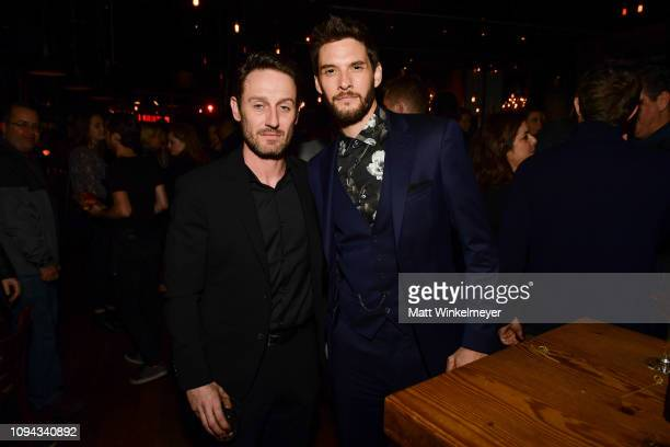 Josh Stewart and Ben Barnes attend Marvel's The Punisher Los Angeles Premiere at ArcLight Hollywood on January 14 2019 in Hollywood California