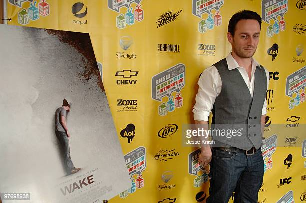 Josh Stewart attends the Wake premiere at the 2010 SXSW Festival at the Paramount Theater on March 13 2010 in Austin Texas
