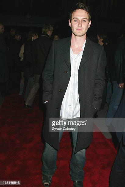 Josh Stewart during Paramount premiere of Alfie at Ziegfeld Theater in New York New York United States