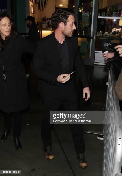 Josh Stewart is seen on January 14 2019 in Los Angeles CA