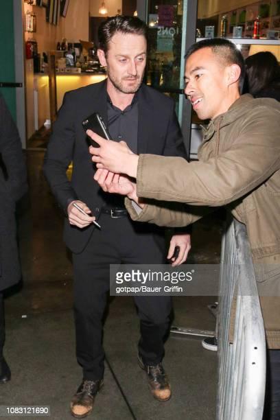 Josh Stewart is seen on January 14 2019 in Los Angeles California