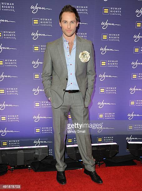 Josh Strickland arrives at the 9th Annual Human Rights Campaign Gala at the Wynn Las Vegas on May 17, 2014 in Las Vegas, Nevada.