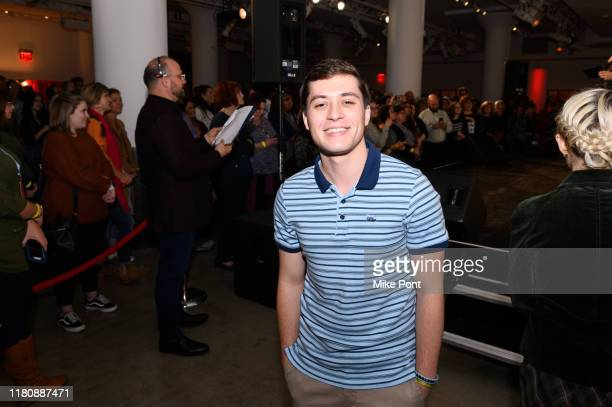 Josh Strobl attends Four Roses Bourbon's Broadway Tastes presented by iHeartRadio Broadway hosted by Alex Brightman with special guest Randy Rainbow...