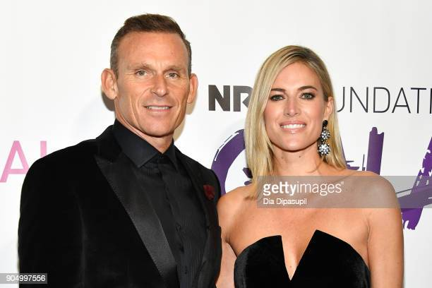 Josh Taekman and Kristen Taekman attend the 2018 National Retail Federation Gala at Pier 60 on January 14 2018 in New York City