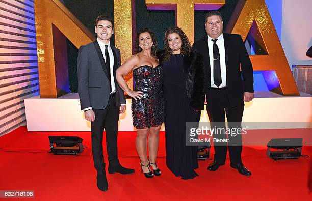 Josh Tapper Nikki Tapper Amy Tapper and Jonathan Tapper of Gogglebox attend the National Television Awards on January 25 2017 in London United Kingdom