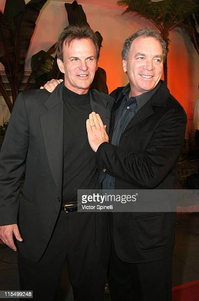 LR Josh Taylor and Ken Corday during NBC Launches 'Days of Our Lives' Serial Murder Mystery Storyline at Arclight Cinerama Dome in Hollywood...