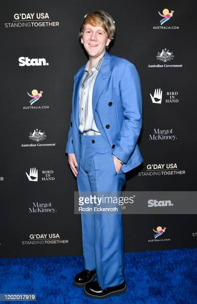 Josh Thomas attends G'Day USA 2020 | Standing Together Dinner at the Beverly Wilshire Four Seasons Hotel on January 25, 2020 in Beverly Hills,...