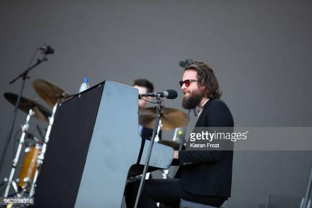 Josh Tillman aka Father John Misty performs at the BBC Biggest Weekend at Titanic Slipways on May 25 2018 in Belfast Northern Ireland