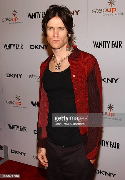 Josh Todd during DKNY Presents Vanity Fair In Concert Featuring Camp Freddy Arrivals at Avalon Hollywood in Hollywood California United States