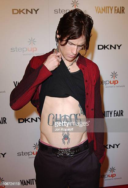 Josh Todd from Buckcherry during DKNY Presents Vanity Fair In Concert To Benefit Step Up Women's Network Arrivals at Avalon Hollywood in Hollywood...