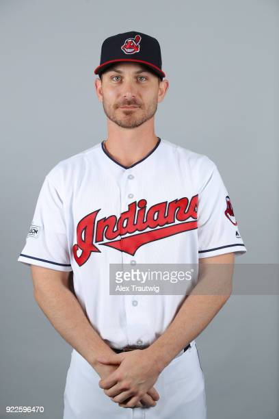Josh Tomlin of the Cleveland Indians poses during Photo Day on Wednesday February 21 2018 at Goodyear Ballpark in Goodyear Arizona