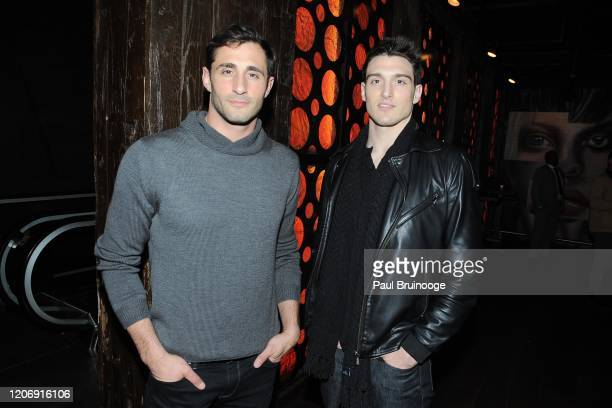 Josh Truesdell and Dan O'Brien Jr attend Sony Pictures Classics And The Cinema Society Host A Special Screening Of The Climb at iPic Theater on March...