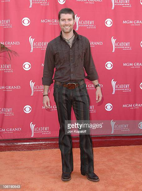 Josh Turner during 42nd Academy of Country Music Awards Arrivals at MGM Grand Hotel and Casino Resort in Las Vegas Nevada United States