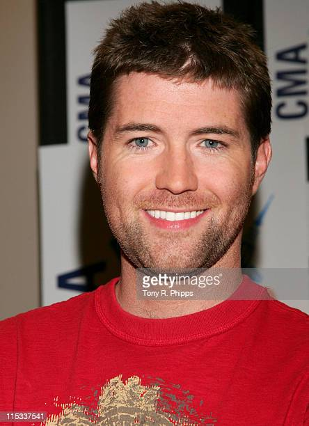 Josh Turner during CMA Music Festival Fan Fair 2007 Saturday Night Press Conference in Nashville Tennessee United States