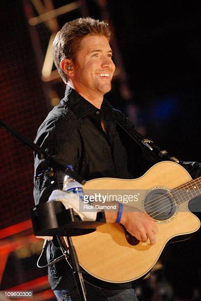 Josh Turner during CMA Music Festival Nightly Concert at The Coliseum Day 3 at The Coliseum in Nashville Tennessee United States