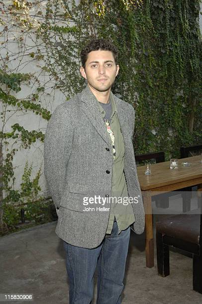 Josh Turner McGuire producer during 'Loveless' Wrap Party at Falcon in Los Angeles California United States