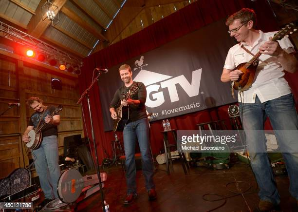 Josh Turner performs at HGTVs The Lodge at CMA Music Fest 2014 on June 5 2014 in Nashville Tennessee