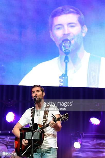 Josh Turner performs at Horseshoe Southern Indiana on May 15 2015 in Elizabeth Indiana