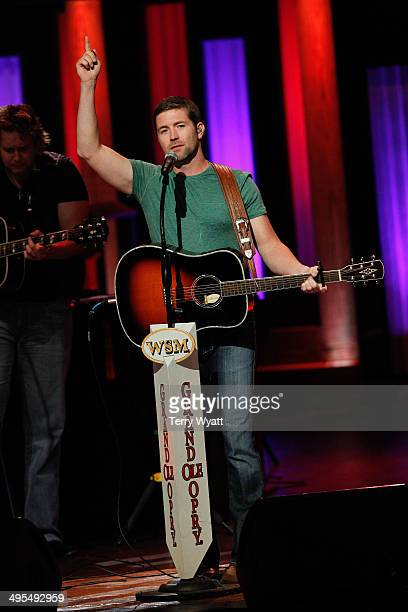 Josh Turner performs at The Grand Ole Opry on June 3 2014 in Nashville Tennessee