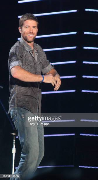Josh Turner performs during the 2010 CMA Music Festival on June 11 2010 in Nashville Tennessee