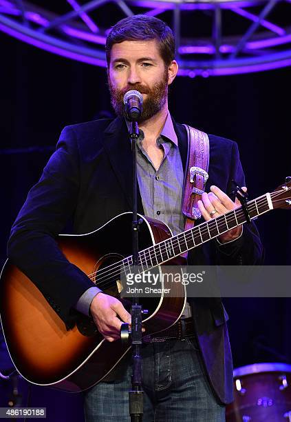 Josh Turner performs onstage during the 9th Annual ACM Honors at the Ryman Auditorium on September 1 2015 in Nashville Tennessee